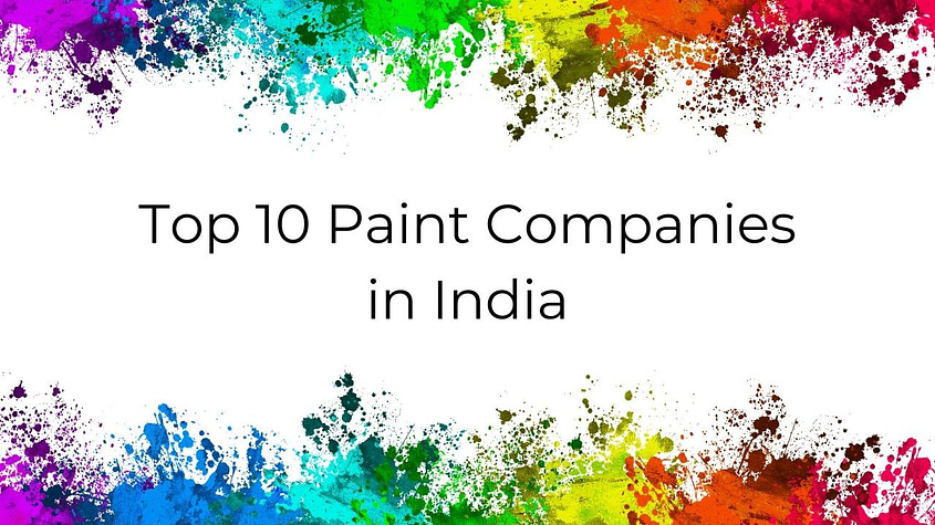 paint companies in India