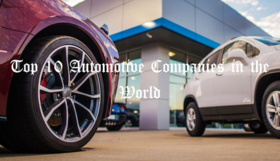 Automotive Companies in the World